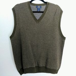Brooks Brothers 100% Lambswool Sweater Vest Wool